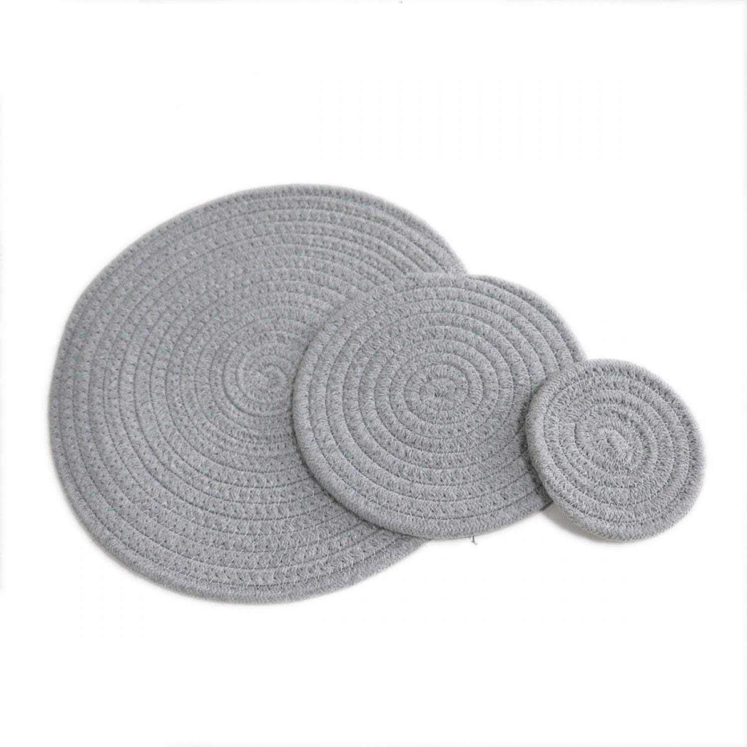 Round Cotton Rope Table Placemats
