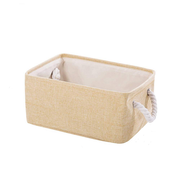 Rectangular Fabric Collapsible Organiser Bin Box