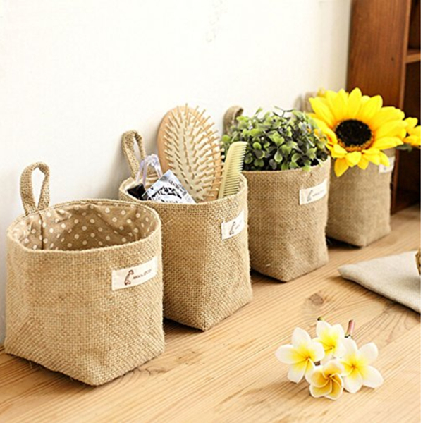 Wall Hanging Planter Woven Plant Basket