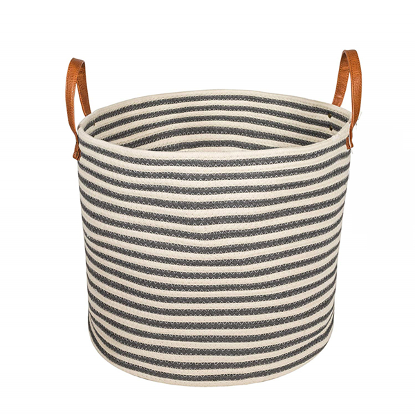 Cotton Rope Basket for Baby Kids Toys